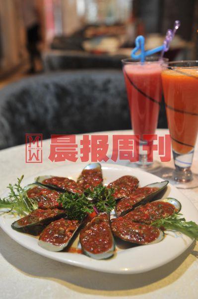 泰式辣椒糕炒青口