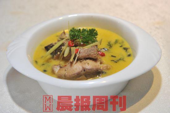 印度香茅咖喱鱼