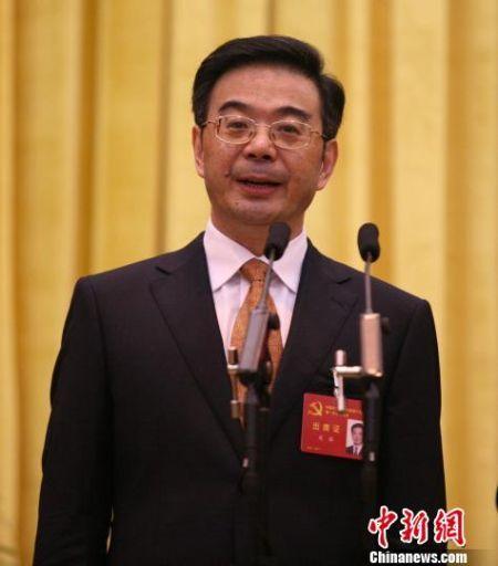 周强当选湖南省委书记 杨华峰 摄