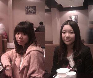 好呷鬼亮个相(1):@刘小沫momo和@铭小嘎cimi