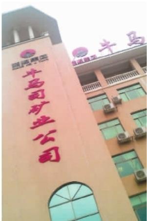 牛马司矿业公司新建的豪华办公楼︒记者 赵伟 摄
