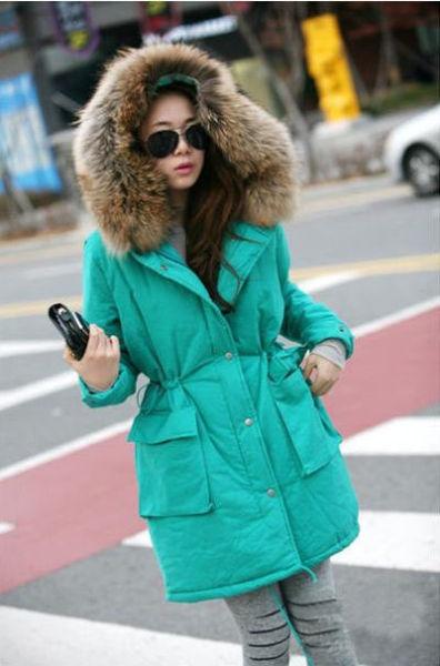 怕冷mm的可爱穿衣法