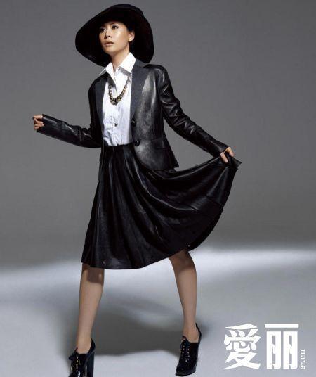 海清冬季衣服搭配图片大全