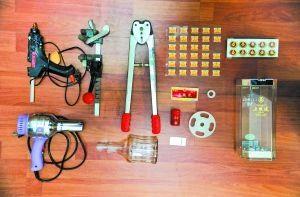 制作假五粮液的工具和包装材料