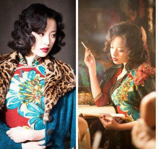 倪妮在《金陵十三钗》的剧照