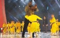 奥尼尔排练湖南春晚节目。 图/记者刘有志