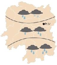20日天气图