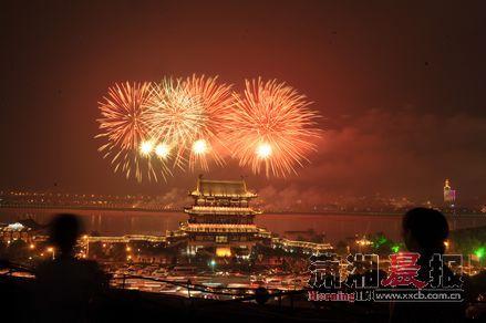 春节期间,3场音乐焰火,将在橘子洲上空绽放。图/记者邵骁歆