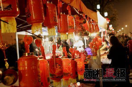从大年二十九开始直到明年的元宵节,长沙开福新春喜乐会将在开福寺和开福寺文化广场举行。图/记者韩敬宇