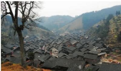 这里曾经是一个美丽的原生态侗族村寨。