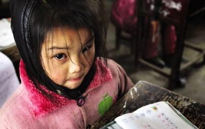 正在教室里上课的孩子。本版图片/记者刘有志