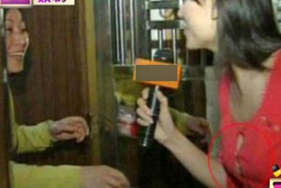 """上海女主持人录节目""""经常性走光"""" 观众愤怒"""