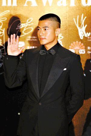 韩庚剪平头v平头敢于剪帅哥的兄弟明星(5)发型短发的吧奔跑杨颖图片