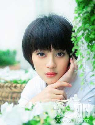 刘亦菲短发亮相 女星短发造型大pk