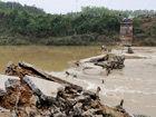 洪水过后的湖南平江