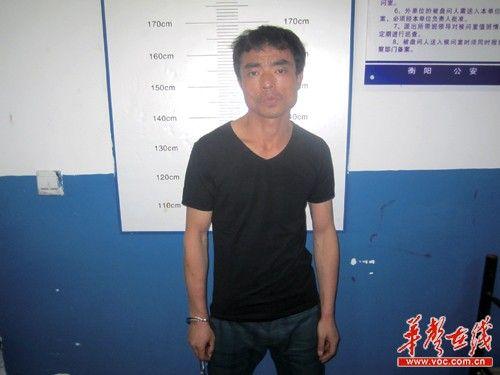 5月28日下午4时许,犯罪嫌疑人刘新祥被警方控制,人质被解救。 通讯员 苏敏 摄