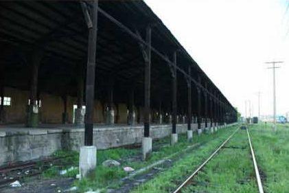 长沙百年老火车北站隐退