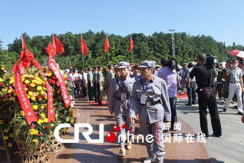 湖南韶山红色旅游活动现场