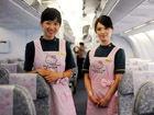 台湾Hello Kitty彩绘飞机