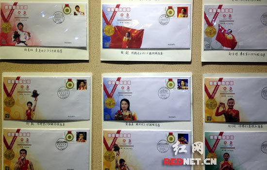 (北京奥运会金牌全家福。)