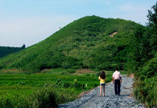 """李友旦就是在""""么家垅""""这片丘陵地带投资开发生态农业"""