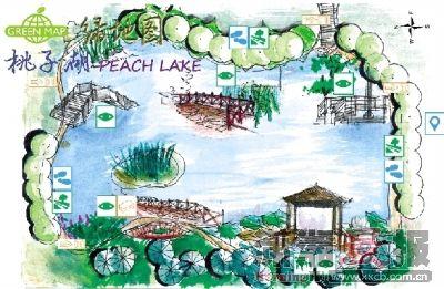 长沙烈士公园导游图; 生态建筑,城市绿地; aiesec长沙与在美国纽约的