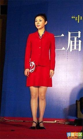 蒋静曾当选第二届中国网络小姐大赛冠军。