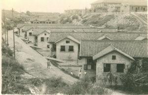 冬瓜山,又名东瓜山,图为1970年代长沙冬瓜山电业新村。