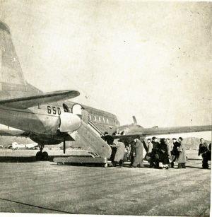 1970年代,长沙大托铺军民两用机场。