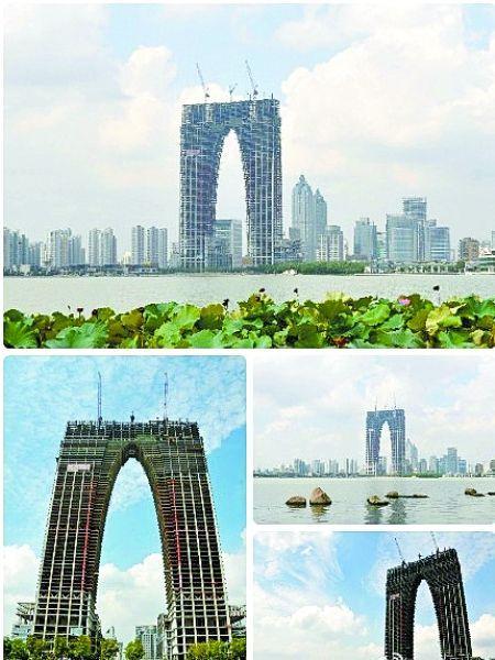 苏州东方之门造型