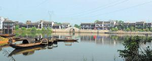 14日起,靖港古镇将再现湘军水战场景。余志雄摄
