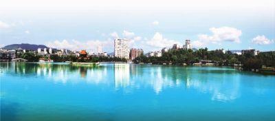 郴州创建国家园林城市:满城尽是山水画