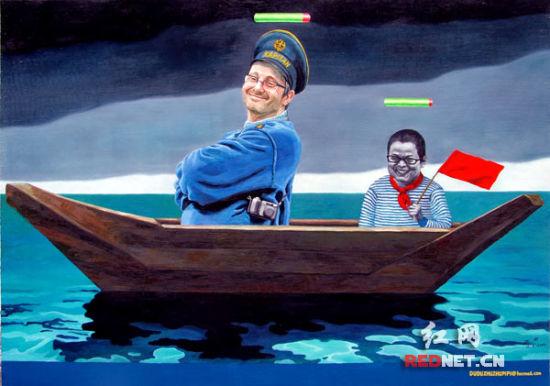 赵斌:《舟系列》