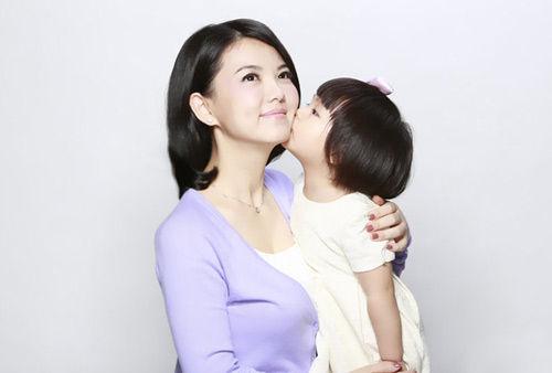 李湘爱女(图片来源:北青网)
