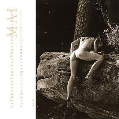 美女裸体攀岩