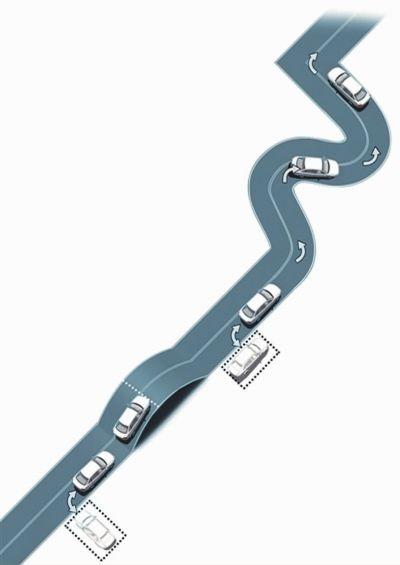 新规实施后的场内考试项目 直角转弯 曲线行驶 侧方停车 坡道定点停车与起步