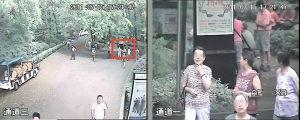 →右边图像(双目摄像系统视频)为左边图像(传统摄像机视频)红框部分的高清效果。本版图片均为资料图片
