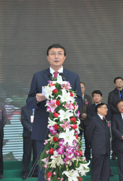 本届农博会主委会主任、湖南省人民政府副省长徐明华讲话致辞