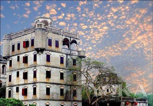 赤坎古镇有350多年历史