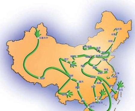 中国境内龙脉