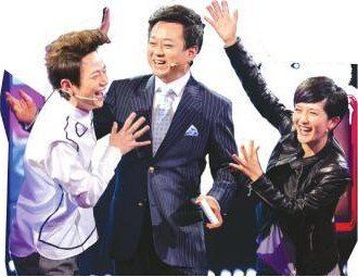 三大综艺名嘴何炅、谢娜、孟非的助阵,为节目增添了欢乐元素