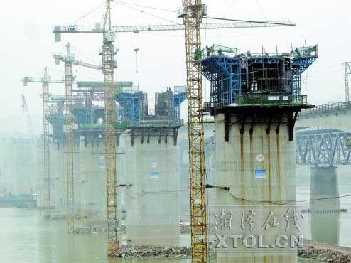 湘江特大桥 (记者 陈旭东 摄)