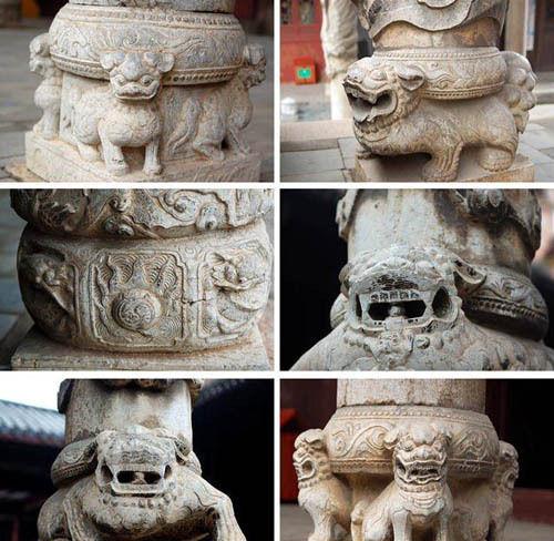 宁远文庙的精美石雕