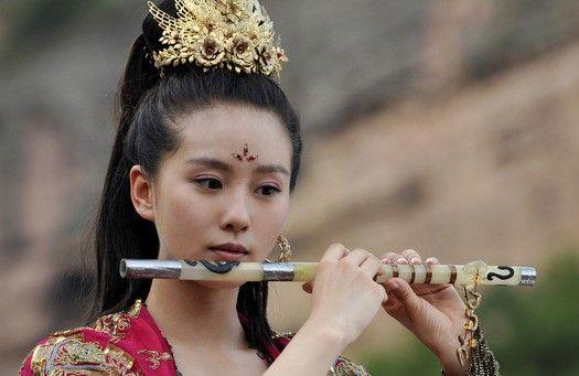 刘诗诗古装戏剧照