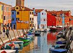威尼斯 彩色岛布拉诺