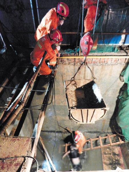 湘潭暴雨三名工人下水道施工被卷走