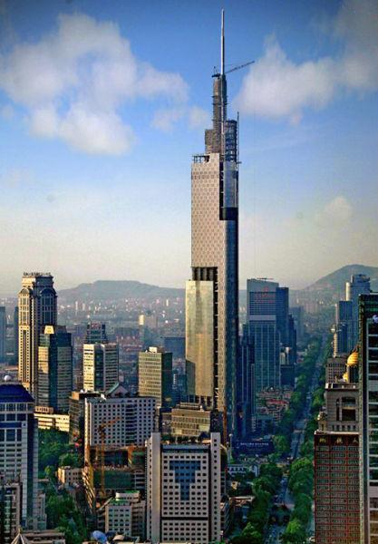 世界十大高楼排行榜:最高楼迪拜哈利法塔828米