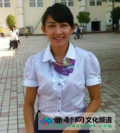 北师大海沧附校最美体育老师林艺莹