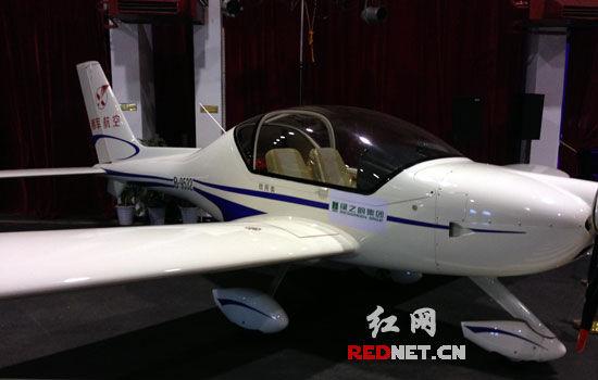 (绿之韵集团订购的私人飞机。)