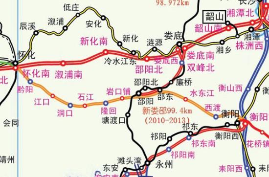 龙厦铁路(福建龙岩至厦门)衔接